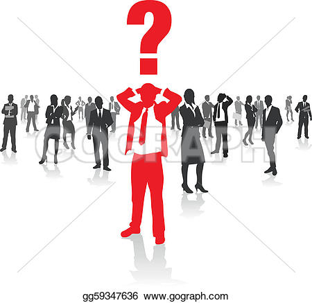 Choice clipart confused person Confused · Royalty people Confused