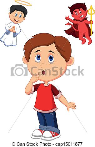 Choice clipart confused person Choice betwe confuse betwe of