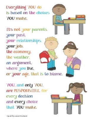 Choice clipart counselor Responsibility Counselor Lessons) Best Poster