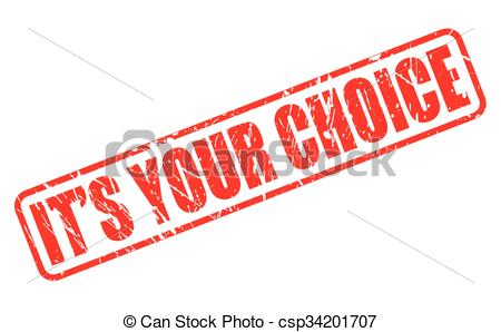 Choice clipart determined  of on Clipart red