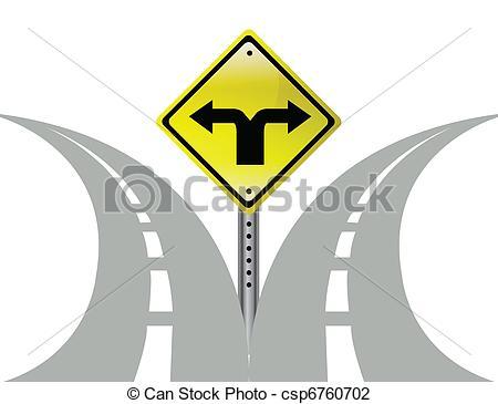Choice clipart direction Arrows choice sign csp6760702 arrows