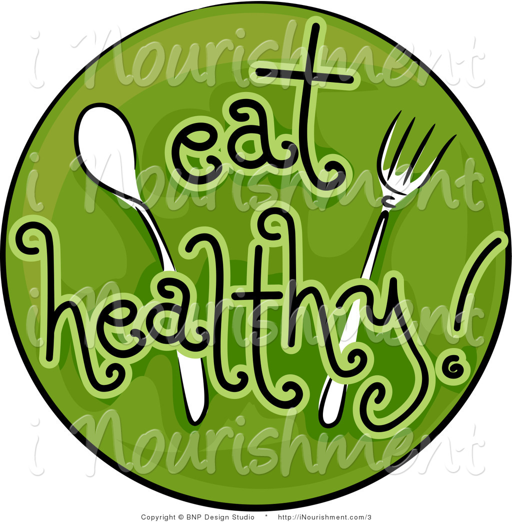 Cutlery clipart healthy food Healthy training Clip Wellness and
