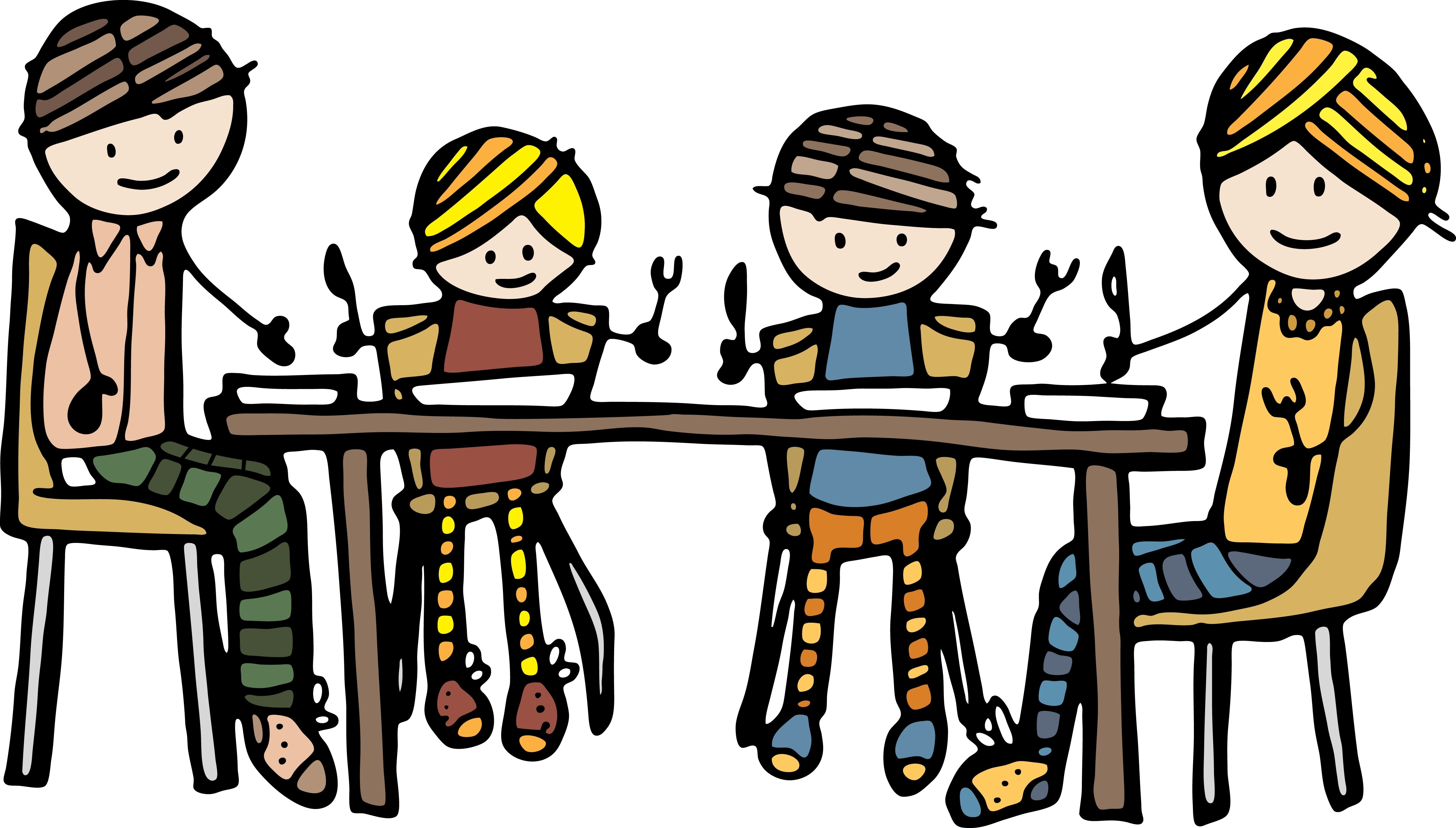 Larger clipart dinner table Creating Positive When for Eating