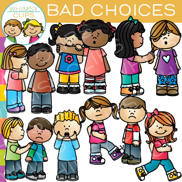 Fight clipart bad behaviour Behavior Choices Clips Whimsy Art