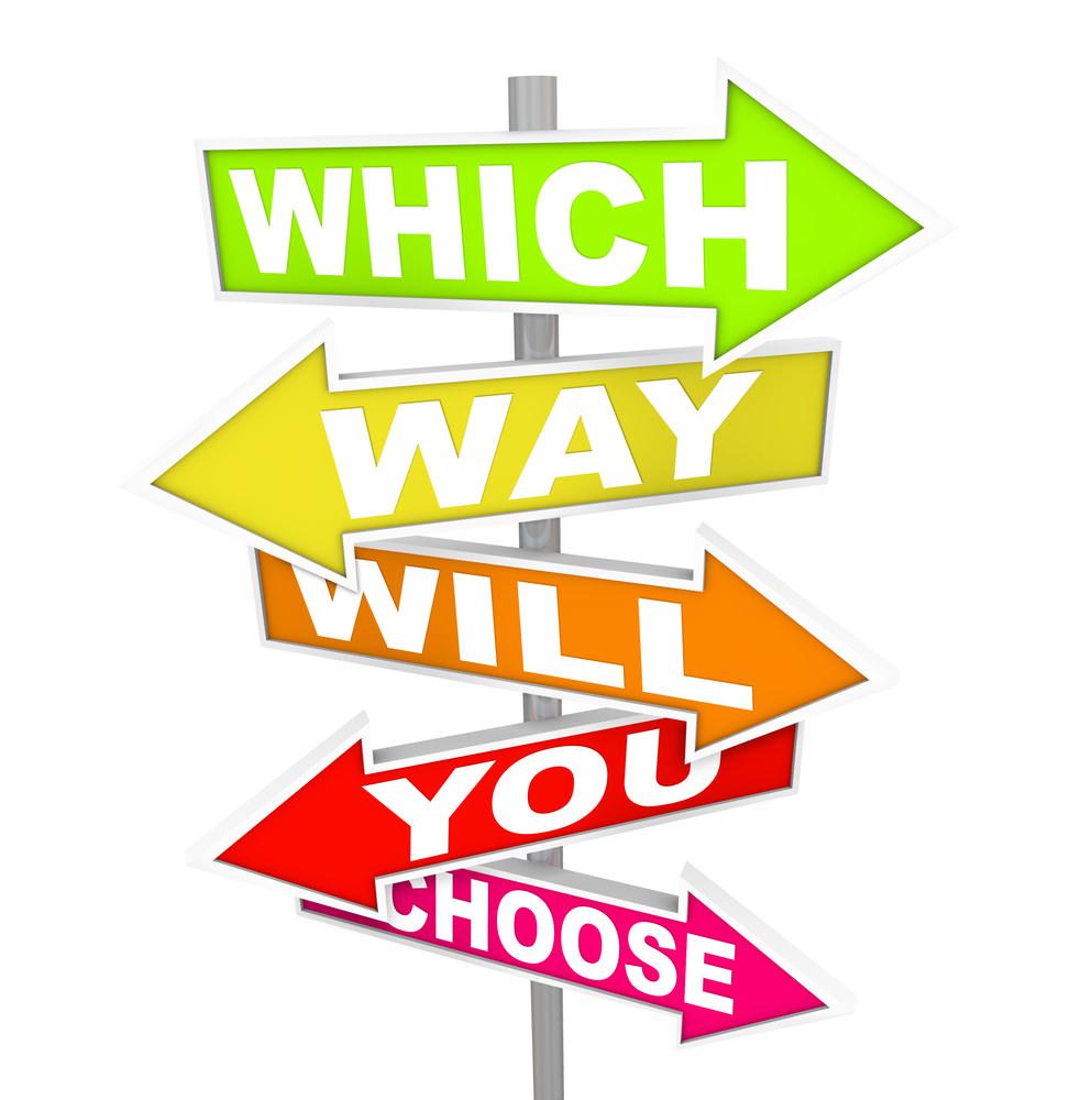 Way clipart choice Choice Cliparts Clipart Choice Zone