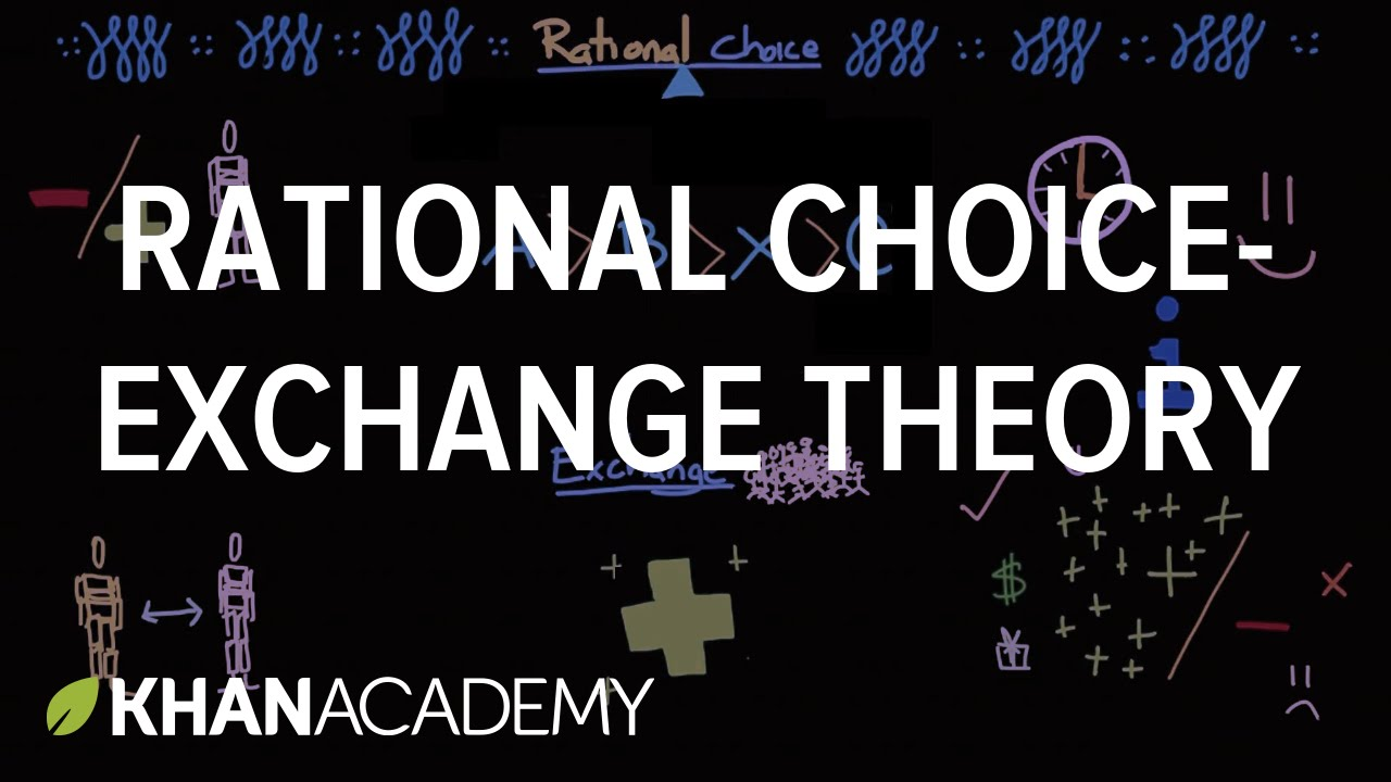 Choice clipart rational Rational exchange  (video) choice