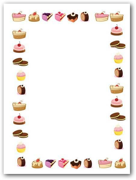 Choice clipart recipe Images Kaders randen Pinterest about