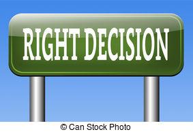 Choice clipart right decision Or Illustrations  choice choice