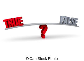 Choice clipart true false #8