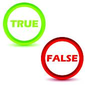 Choice clipart true false #3