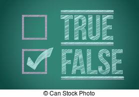 Check clipart true And false or  807