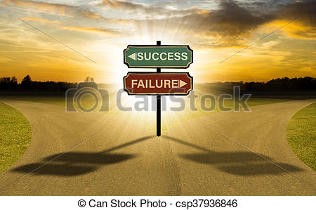 Choice clipart two road Or success Stock select Stock