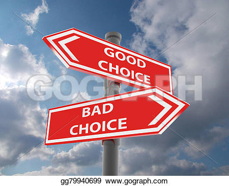 Choice clipart two road Two Illustration Clipart signs signs