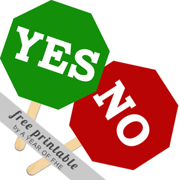 Choice clipart yes or no Year Signs to of Daily