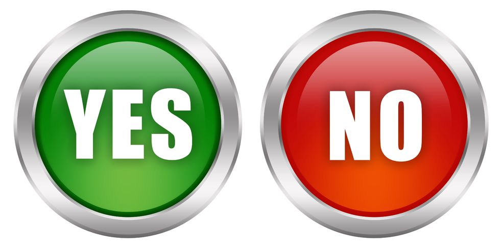 Choice clipart yes or no In Yes 6th clipart Time