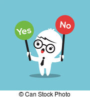 Choice clipart yes or no No with sign checked