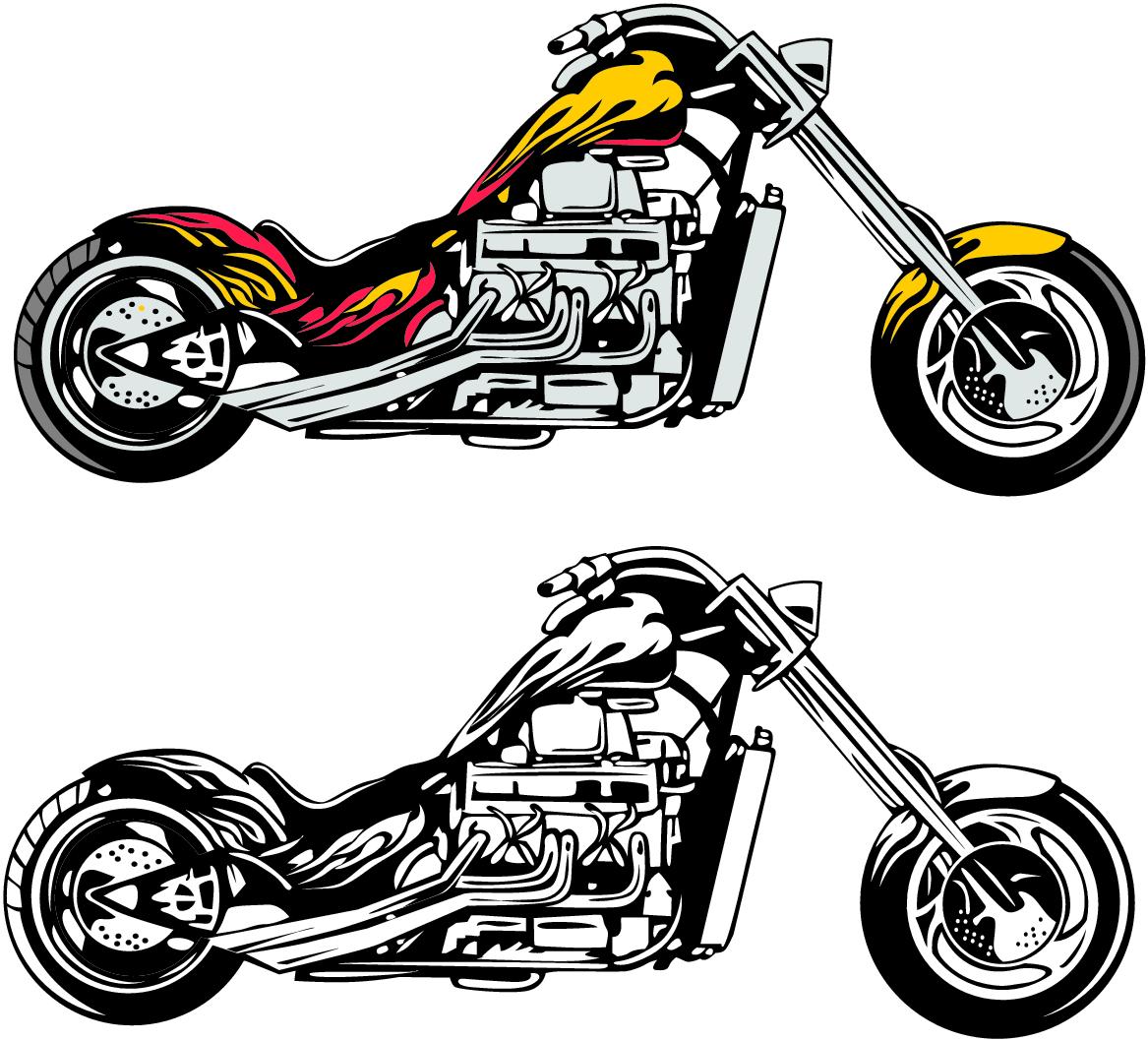 Chopper clipart Art Free Motorcycle Clip Panda
