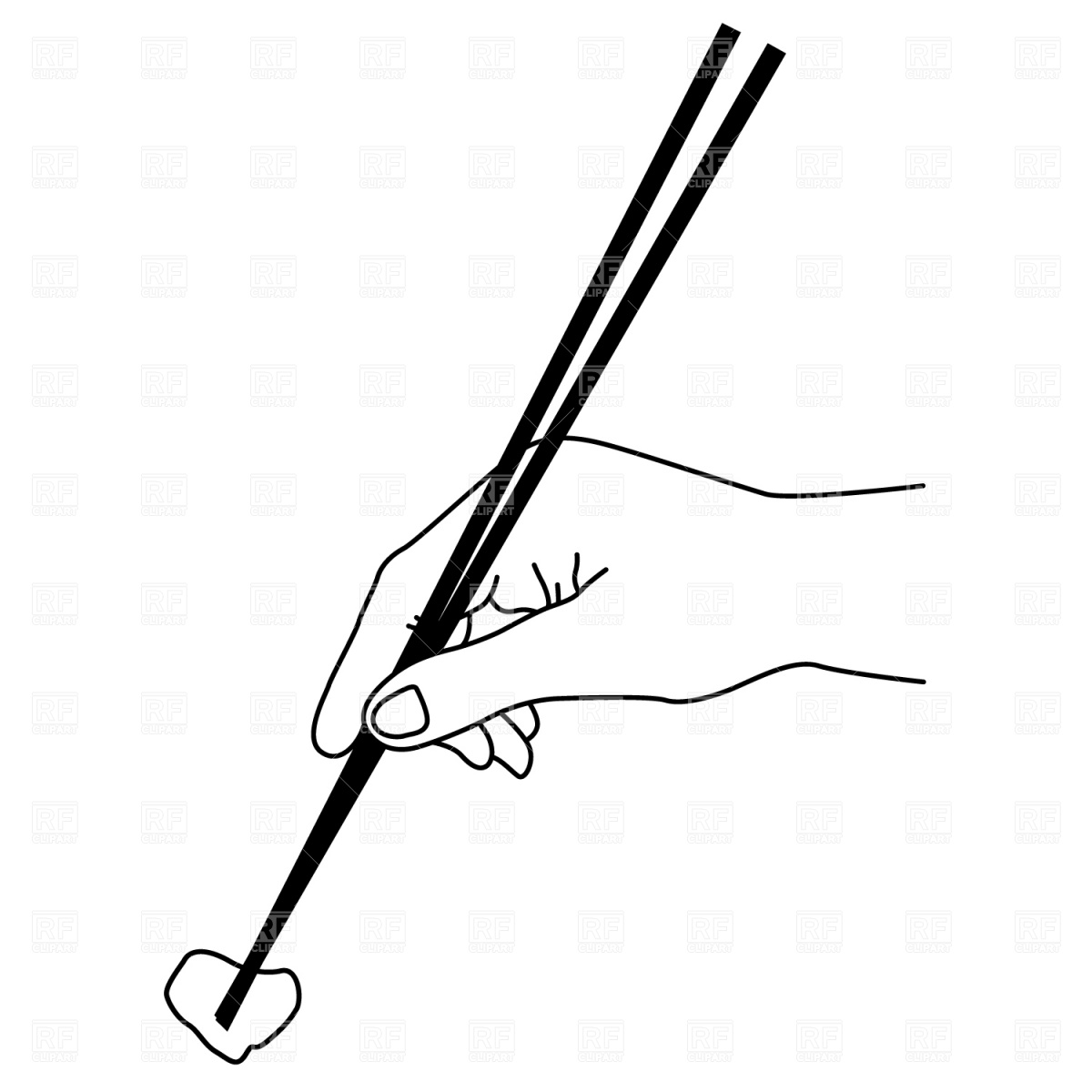 Chopsticks clipart Photo Chopsticks art clipart 2