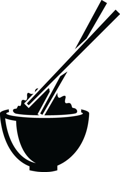 Chopsticks clipart Gifts Chopsticks Art Rice Bowl