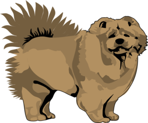 Chow Chow clipart Clker clip at Clip