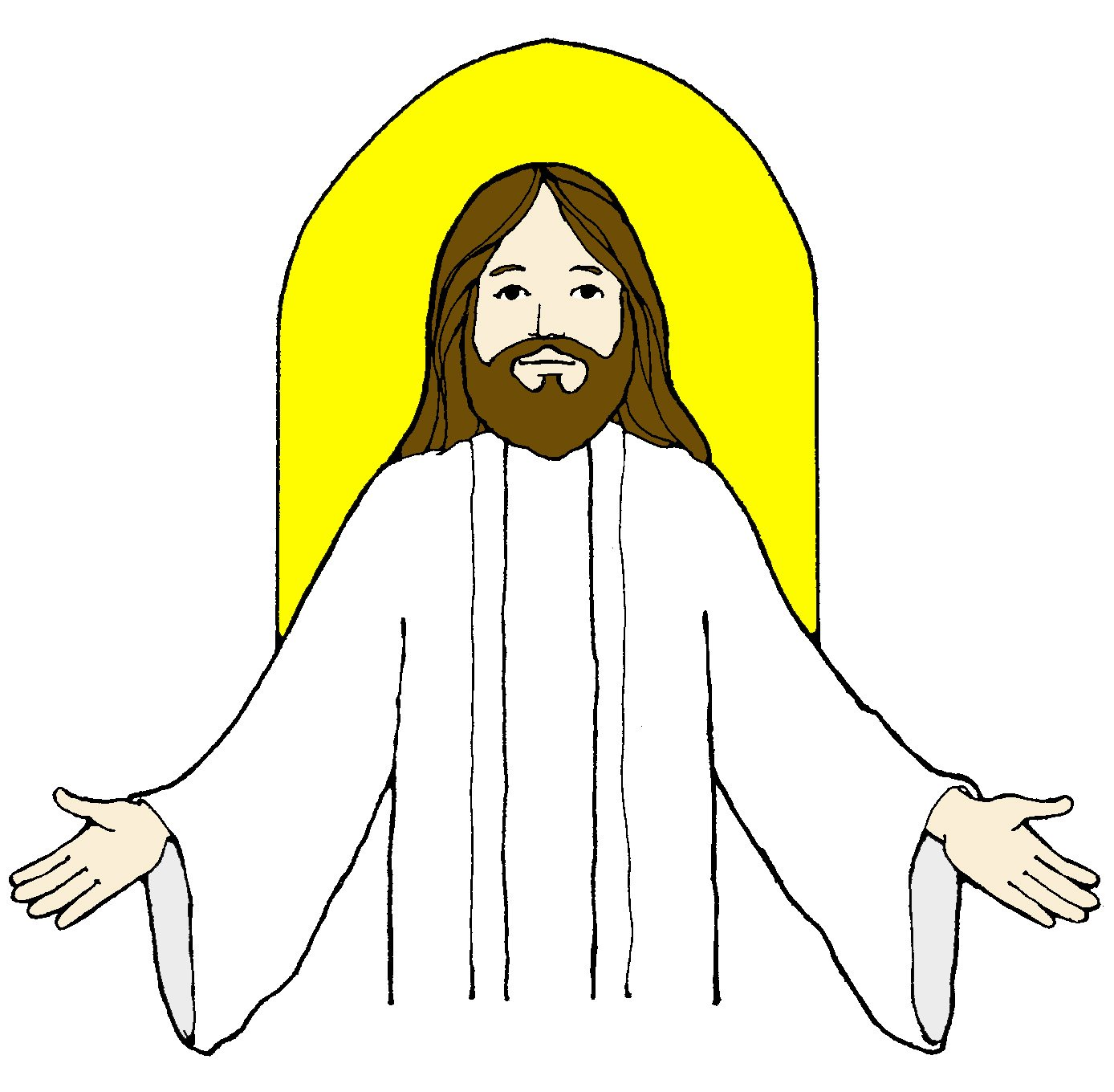 Jesus clipart Jesus Face Clipart Clipart Clip Clip Art And