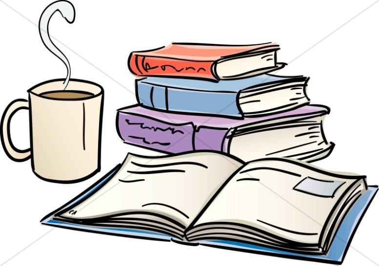 Bobook clipart coffee and Bible Study Study Sharefaith Reading