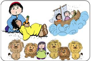 Christ clipart kid bible Clip Land Bible Kids In