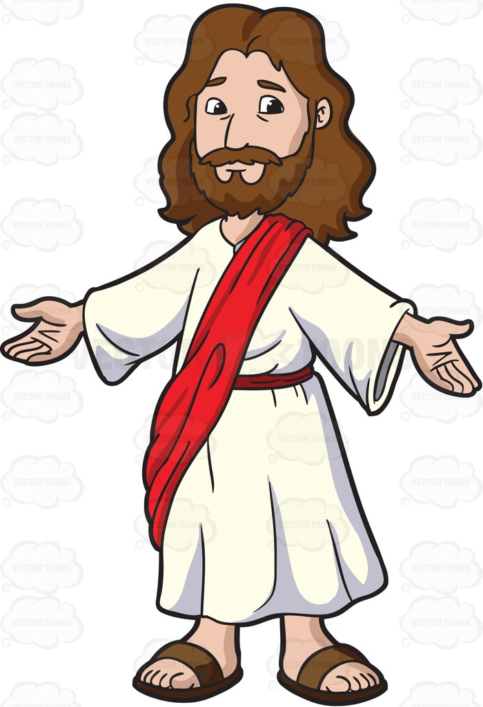 Christ clipart opened Christ  Everyone His Welcome