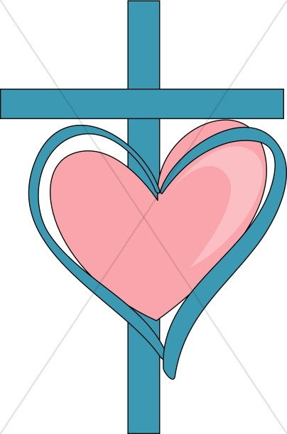 Christ clipart pink cross Heart Sweet and Heart Images