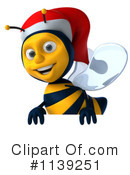 Bees clipart christmas Bee Bee Illustration Christmas Clipart