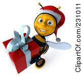 Bees clipart christmas Clipart Christmas bee clipart bee