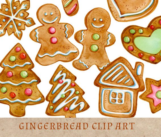 Gingerbread clipart christmas tree Art Art Clipart Cookies Cliparts