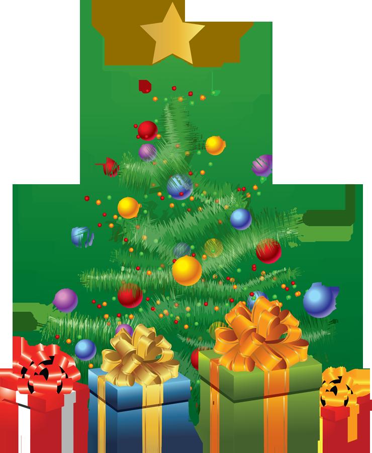 Christmas Tree clipart christmas party Tree black buzz white tree