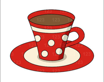 Coffee clipart teacup Free clipart tea Red cup