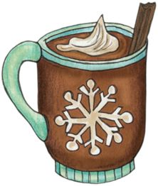 Coffee clipart sandwich Winter 128 ClipartChristmas «khadfield_hotc…» Cocoa
