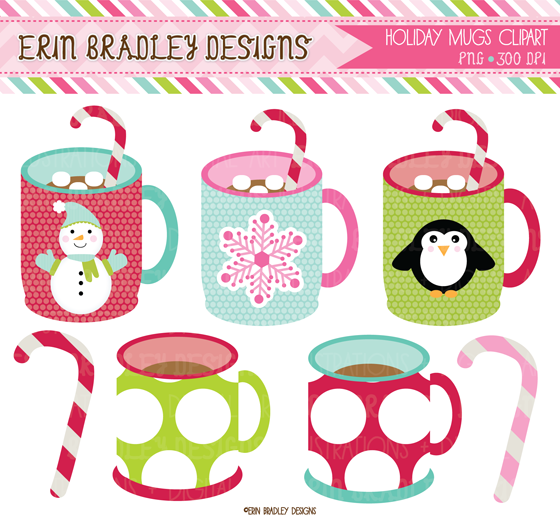 Hot Chocolate clipart holiday #3