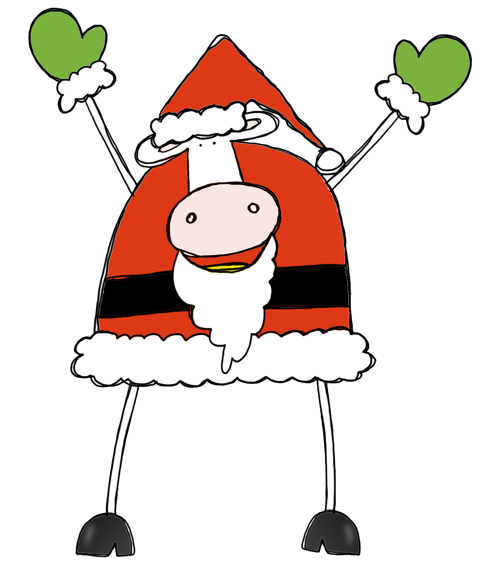 Cattle clipart christmas #3