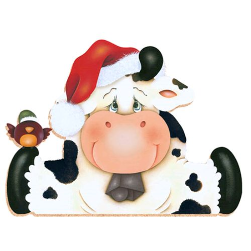 Cattle clipart christmas #1