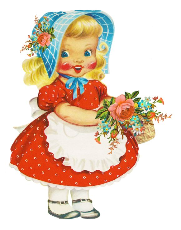 Doll clipart vintage doll Clip Clipart Free Clipart Art