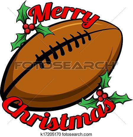 Football clipart christmas Clipart clipart Christmas football football