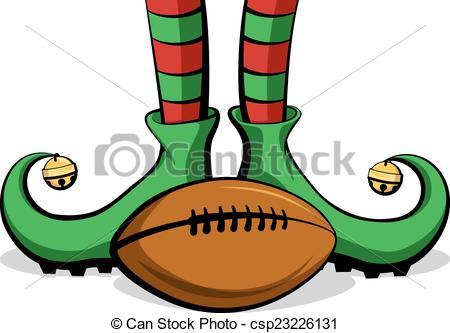 Football clipart christmas Ball football  Christmas soccer