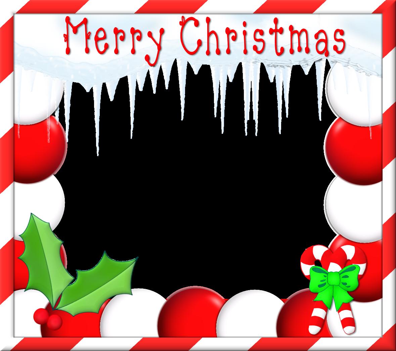 Merry Christmas clipart frame Border disney  art on