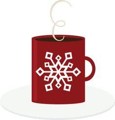 Winter clipart hot cocoa Hot Holiday Illustration art