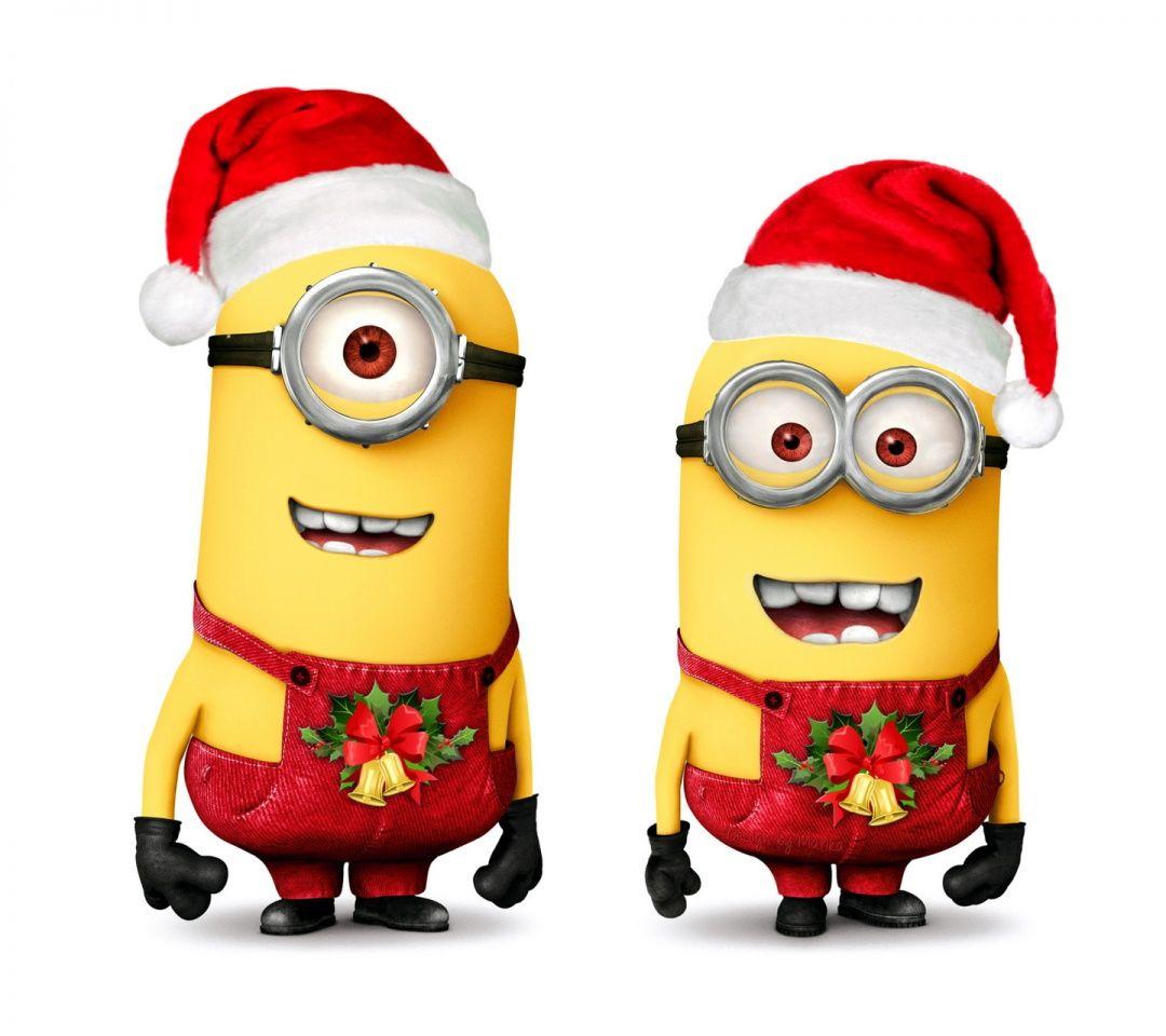 Santa clipart minion #1