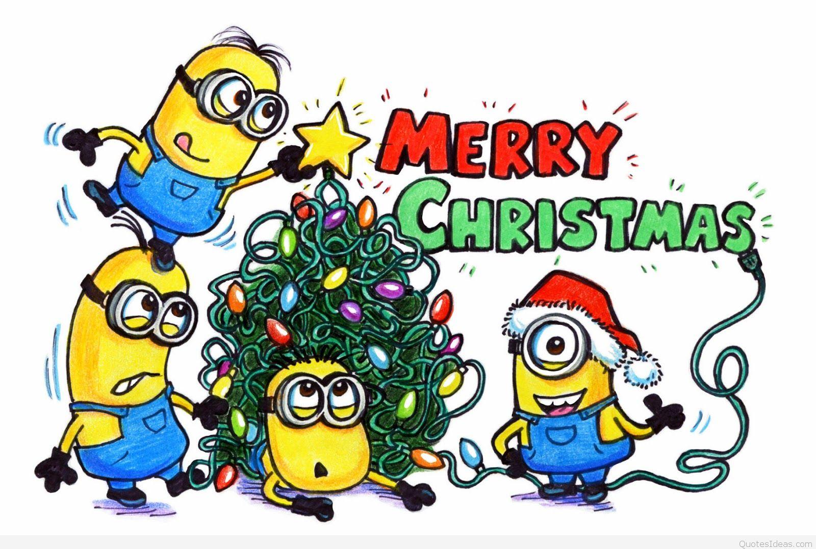 Santa clipart minion #9