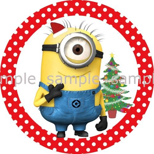 Santa clipart minion #10