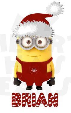 Santa clipart minion #2