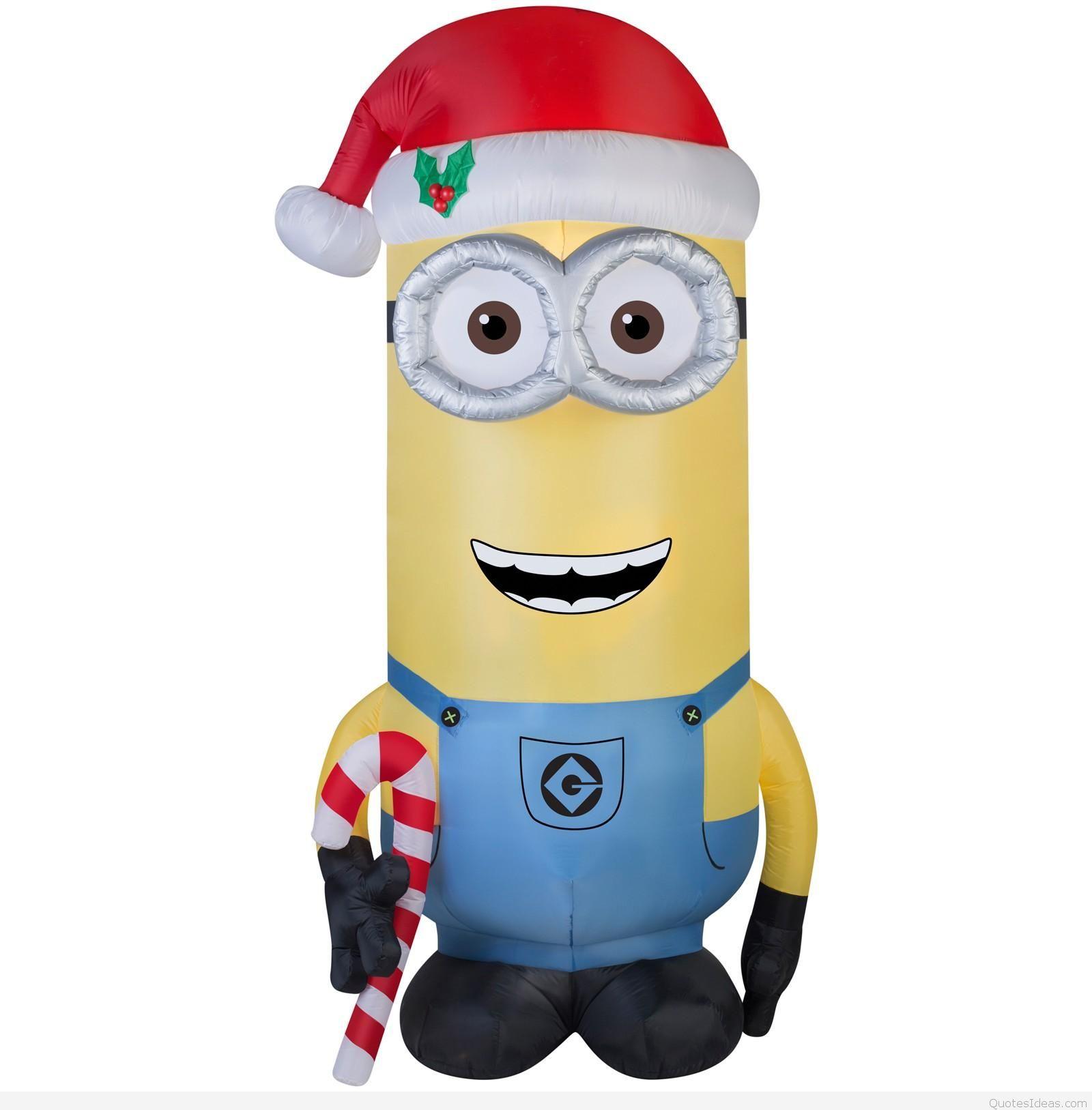 Santa clipart minion #5