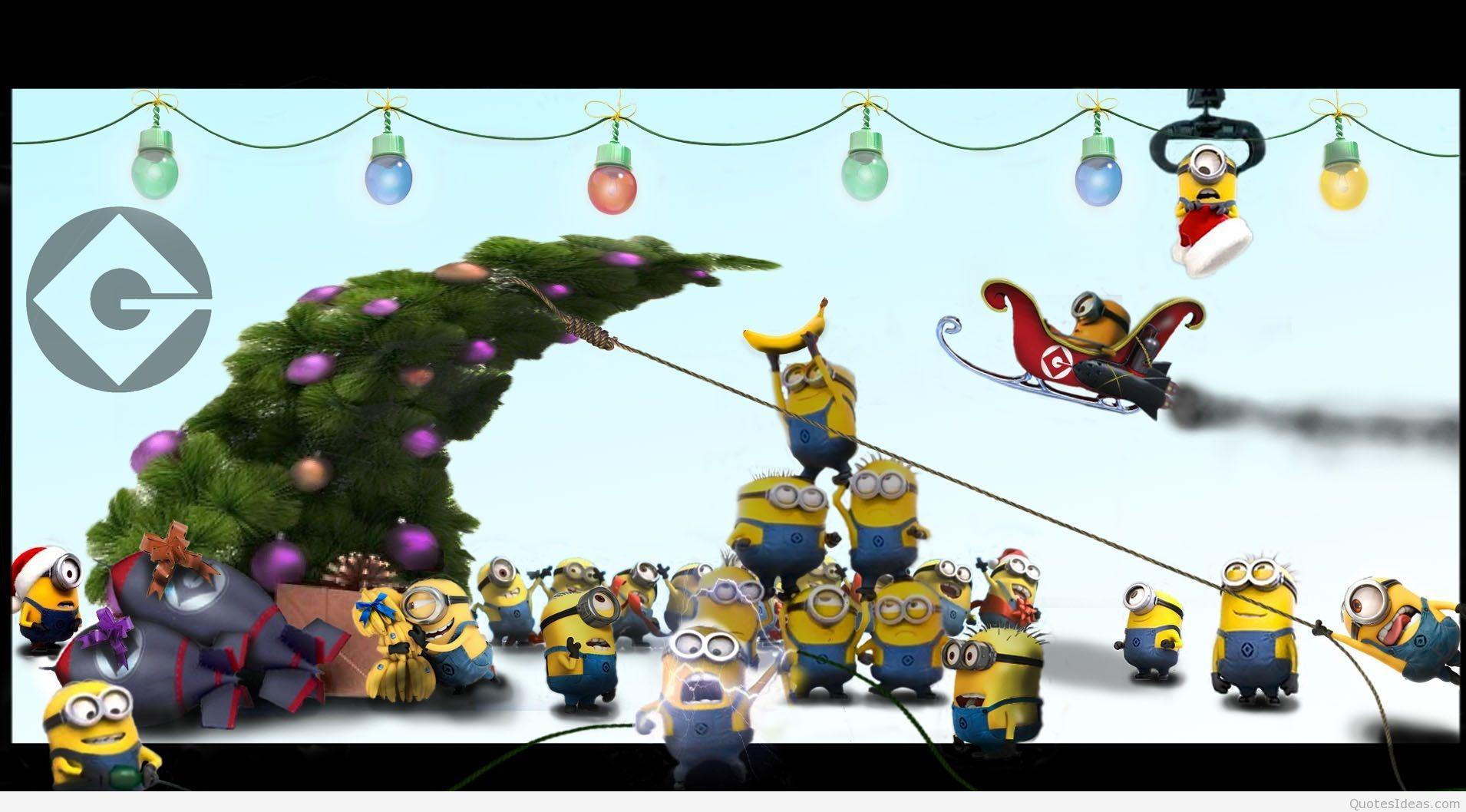 Santa clipart minion #8