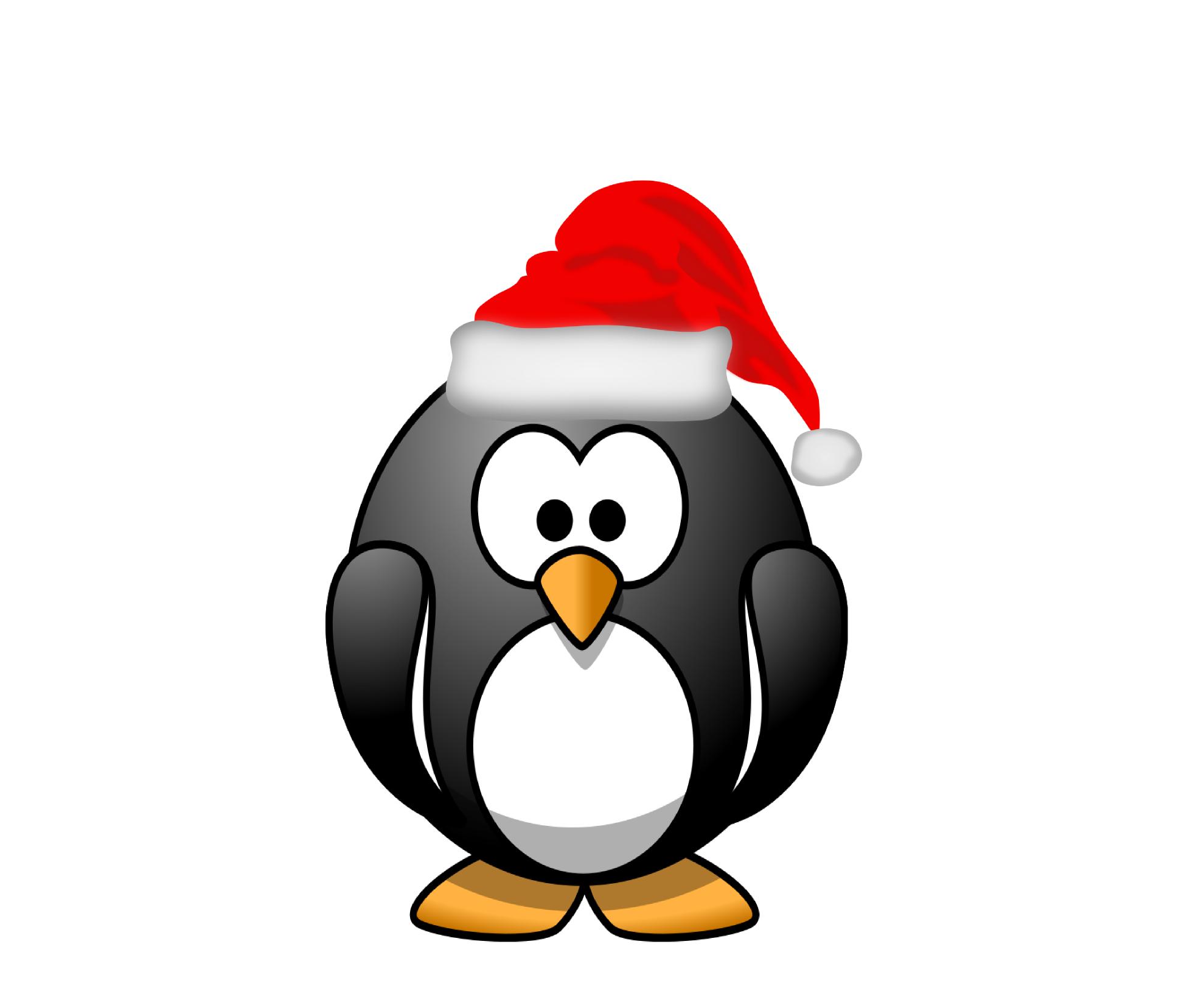 Sanya clipart penguin Christmas%20penguin%20clipart%20black%20and%20white Images Penguin Christmas Clipart